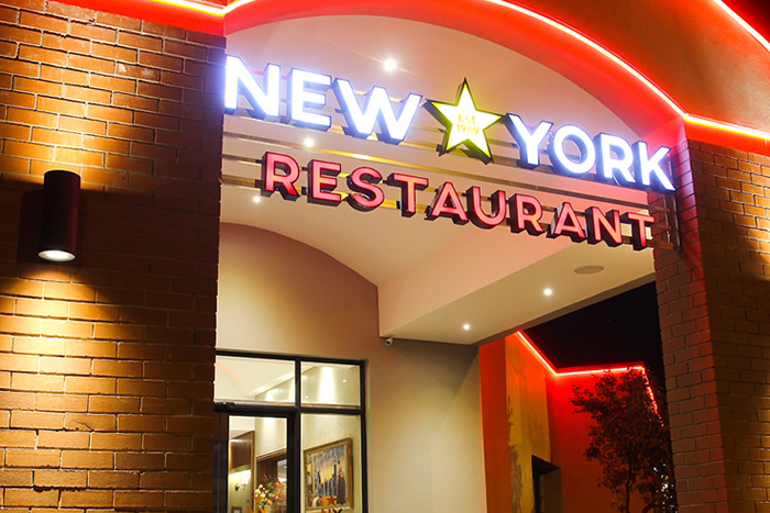 new york restaurant in bloemfontein